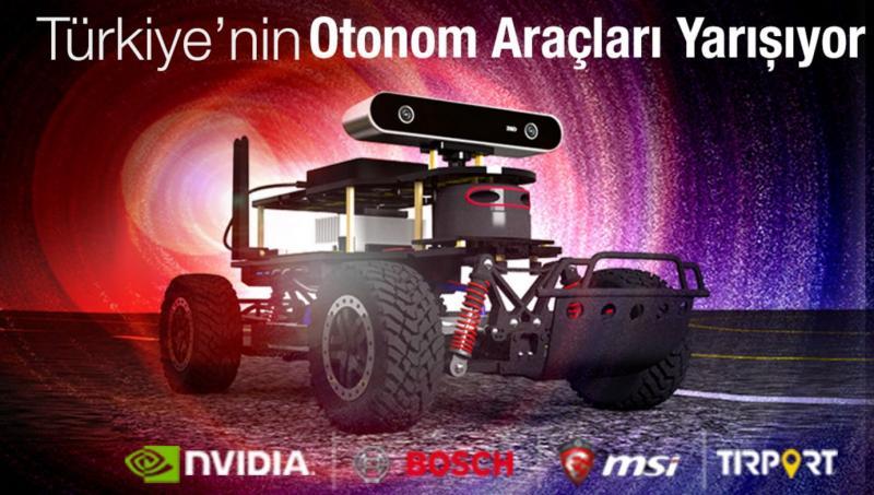 Avrupa'nın en büyük mini otonom araç yarışması 13 Nisan'da Ankara'da yapılacak
