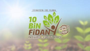 TGB 100. yıl ormanına 10 bin gönüllü arıyor