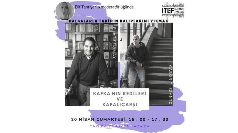 Ünlü Macar yazar Gábor T. Szántó, İTEF'e konuk olmak üzere Türkiye'ye geliyor!