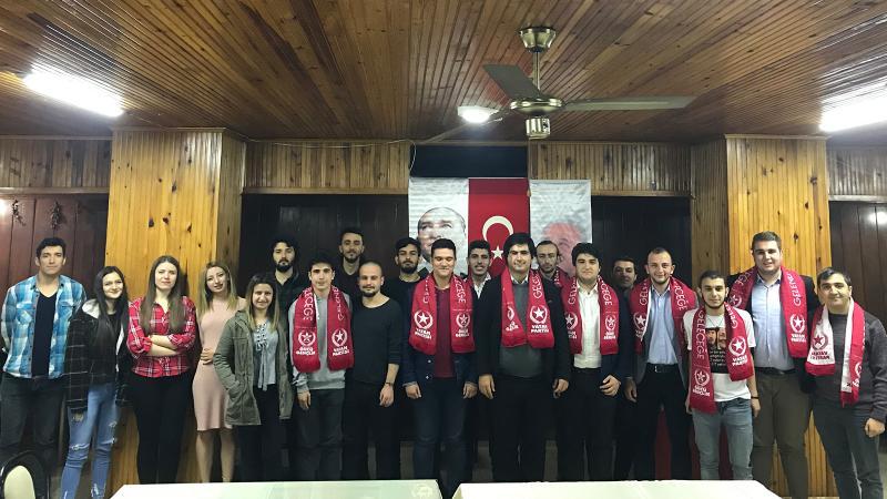 Edirne'den Kars'a Öncü Gençlik'te 25. yıl coşkusu