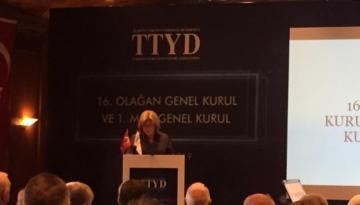 Oya Narin ikinci kez TTYD başkanlığına seçildi