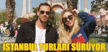 Şeyma Subaşı aşkıyla İstanbul'un tadını çıkarıyor