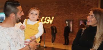 Fenerbahçeli Isla'nın aile saadeti