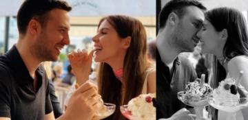 Hatice Şendil ve eşi Paris'te aşk tazeledi