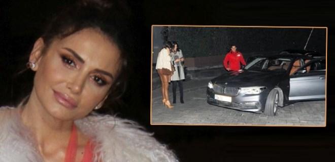 Emina Jahovic'in aracı dolmuşa döndü!