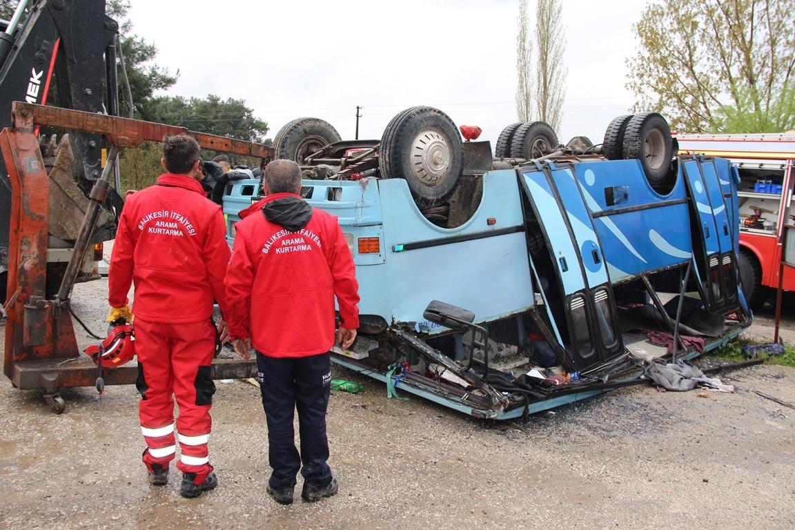 Soma'daki trafik kazası