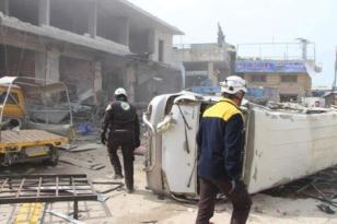 İdlib'de bomba yüklü araç infilak etti