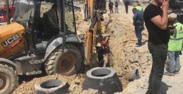 Başakşehir'deki bir inşaatta göçük