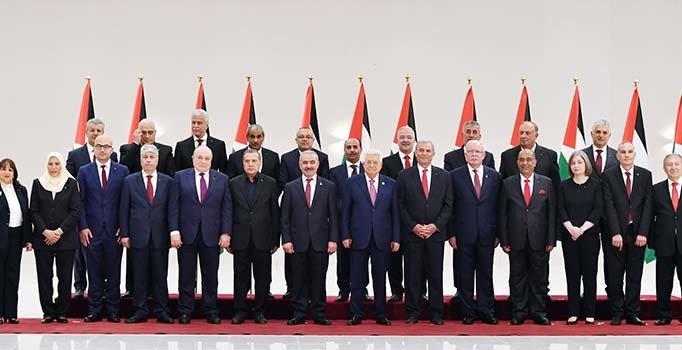 Filistin'de yeni kabine üyeleri yemin etti