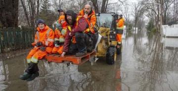 """Kanada Su altında, """"Acil durum"""" uyarısı"""