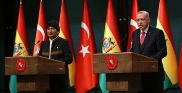 Erdoğan ve Morales'ten ortak basın toplantısı