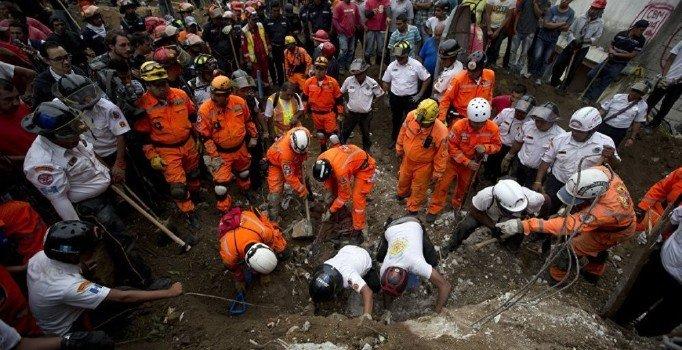 Myanmar'da taş ocağında toprak kayması: 54 işçinin öldüğü tahmin ediliyor