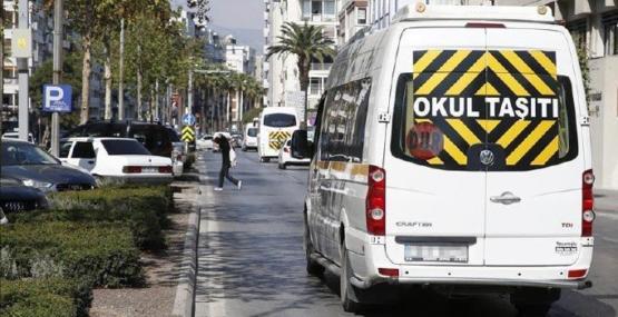 81 ilde 48 bin personelle denetim: 647 okul servisi trafikten men edildi