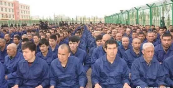 Türk vatandaşları toplama kampında