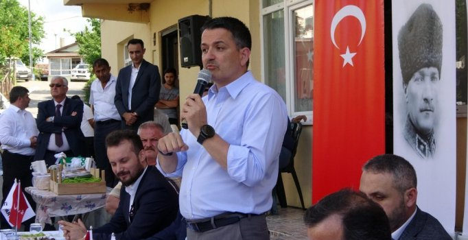 Bakan Pakdemirli: Türkiye'de tarım ve ormancılığı kalkındırmak zorundayız
