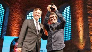 İstanbul Müzik Festivali Yaşam Boyu Başarı Ödülü Yuri Bashmet'e takdim edildi