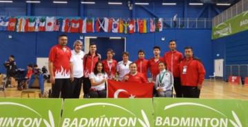 Milli badmintoncılar 6 madalya kazandı