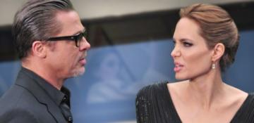 Brad Pitt'ten Angelina Jolie'ye sert fırça!