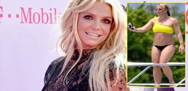 """Britney Spears sert çıktı: """"Beni kilolu gösteriyorlar"""""""