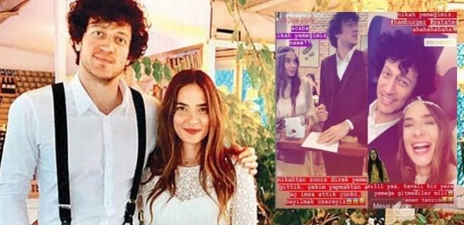 Müge Boz ve Caner Erdeniz Barcelona'da evlendi