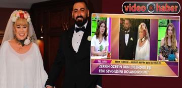 Zerrin Özer'in eşi hakkında 'dolandırıcı' iddiası