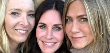 """""""Friends"""" dizisinin oyuncuları yıllar sonra buluştu"""