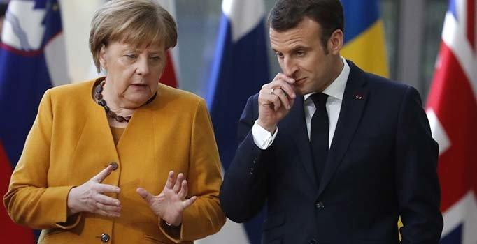 Macron: Merkel AB Komisyonu Başkanı olsun