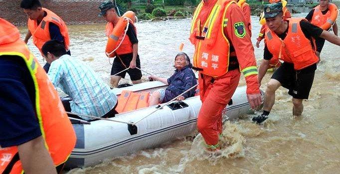 Sel, Çin'i yıkıp geçti: En az 49 ölü, 14 kişi ise hala kayıp