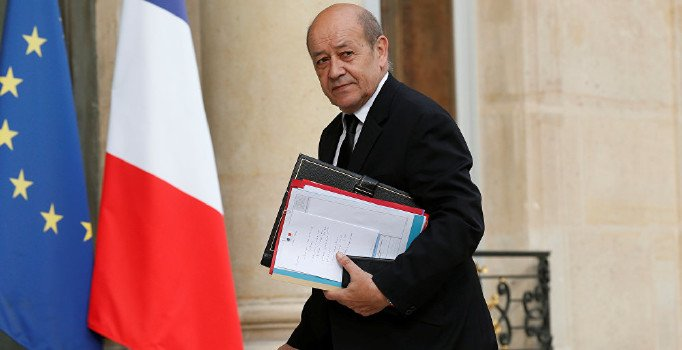 Fransa Dışişleri Bakanı Le Drian, yarın Türkiye'ye geliyor