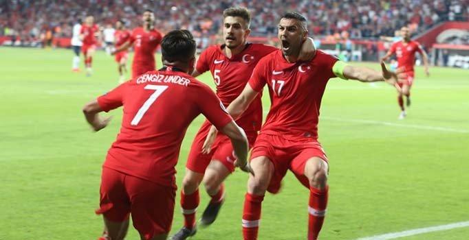 Türkiye:2 Fransa:0 | Maç sonucu