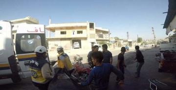 Suriye savaş uçakları İdlib civarını bombaladı: 8 ölü