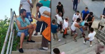 Antalya'da 2 kız kardeşe sözlü tacizde bulunan şüpheliye meydan dayağı