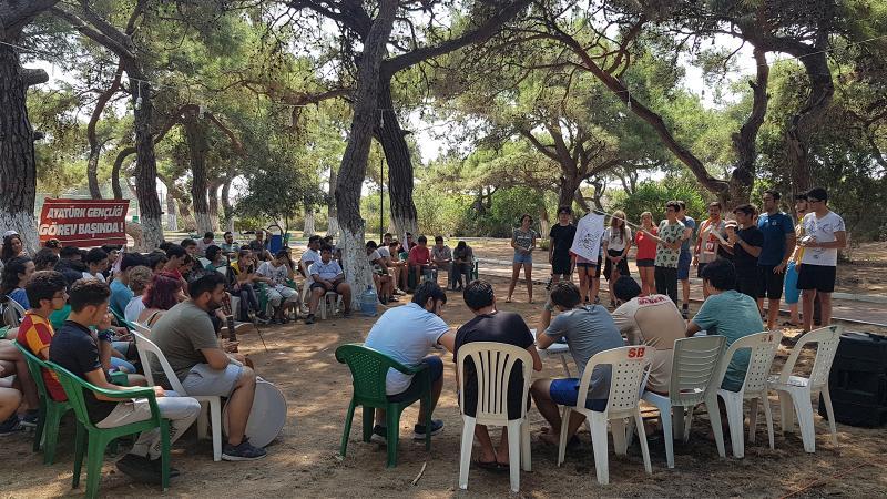 Atatürk gençliği bu kampta buluşuyor