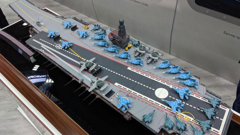 Rusya, nükleer motorlu uçak gemisi projesini tanıttı