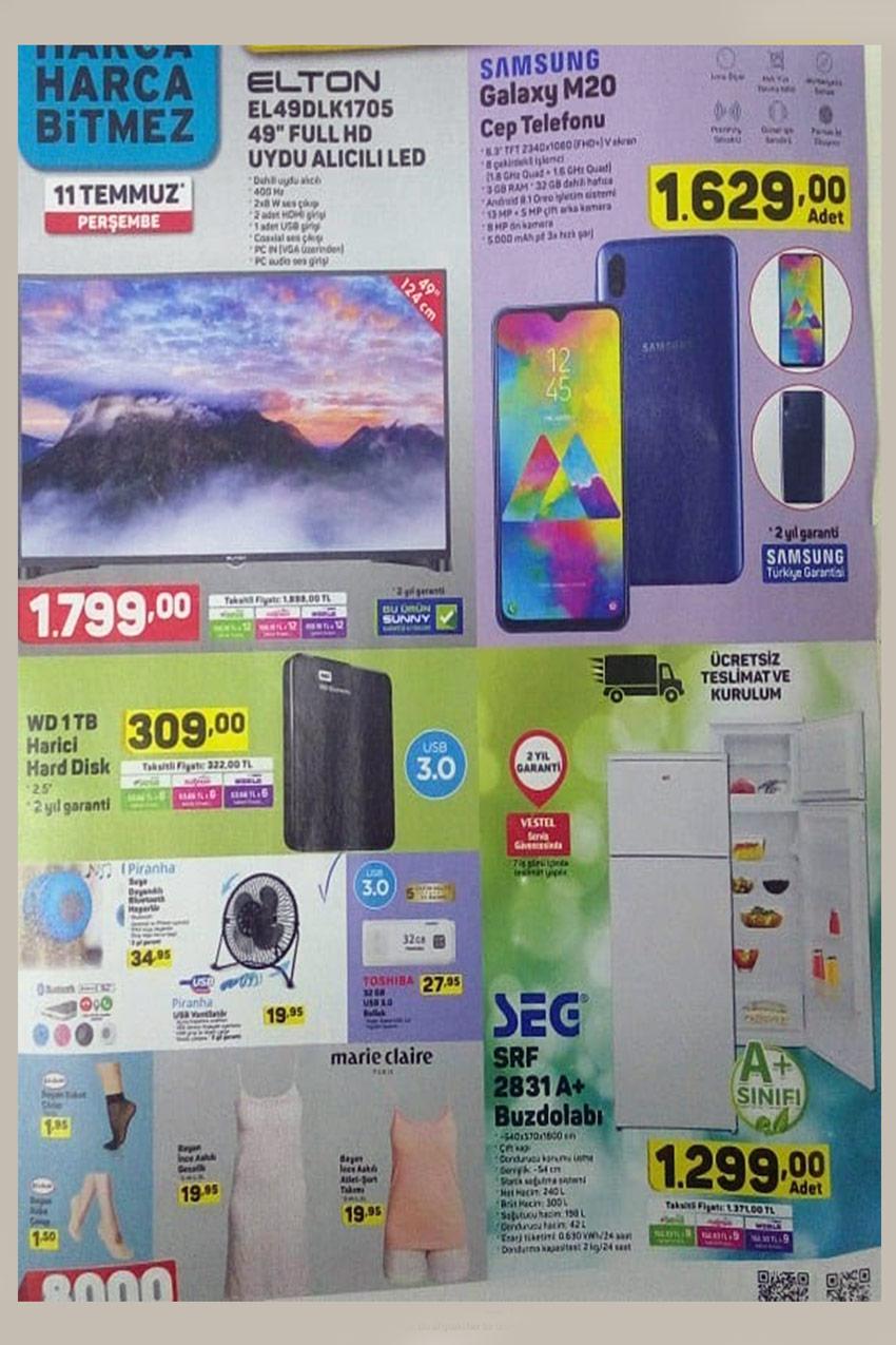 A101 11 Temmuz Büyük Aktüel Ürünleri
