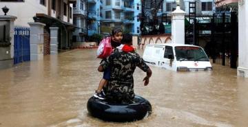 Nepal'de muson felaketi! 78 kişi can verdi