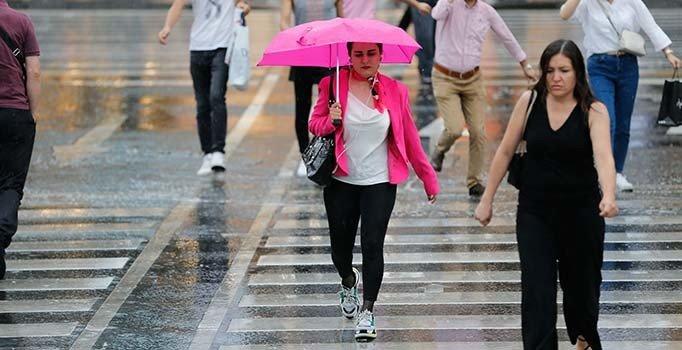 Meteoroloji'den 4 bölge için sağanak uyarısı   Trabzon, Rize, Giresun ve Edirne hava durumu