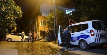 Beykoz'da bir eve molotofkokteyli ile saldırı düzenlendi