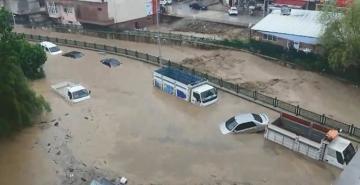 Bakan Süleyman Soylu: Düzce'de 4'ü çocuk 2'si kadın 7 kişi kayıp