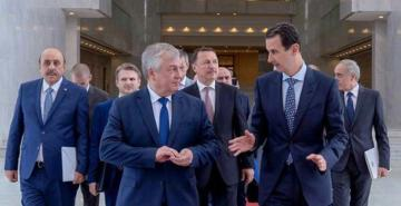 Rusya'nın Suriye Özel Temsilcisi Lavrentiev, Esad ile görüştü