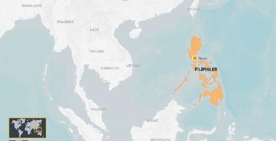 Filipinler'de öğrencileri taşıyan araç kaza yaptı: 9 ölü!