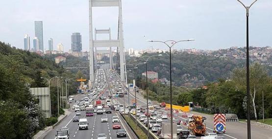 Bakan Turhan: Fatih Sultan Mehmet Köprüsü, bayramda hizmette