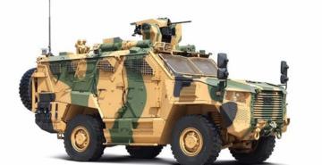 TSK'nın yeni zırhlı aracı 'Vuran' Kara Kuvvetleri Komutanlığına teslim edildi