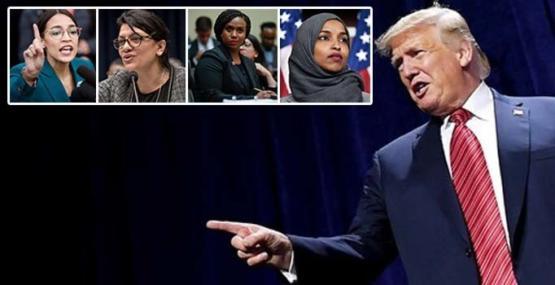 Trump'tan demokrat vekile mesaj: Özür dilemelisiniz