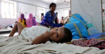 Hindistan'da beyin iltihabı salgınında ölü sayısı 177 yükseldi