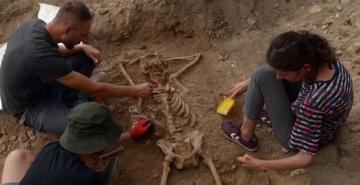 Sinop'ta bulunan iskelet arkeologları şaşırttı