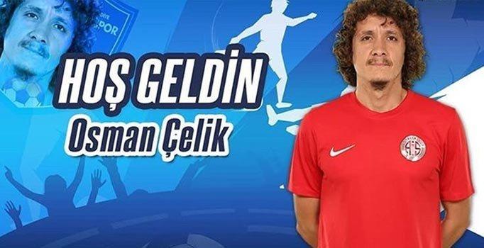 BB Erzurumspor Osman Çelik'i renklerine bağladı
