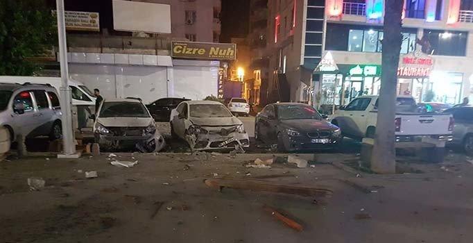 Cizre'de EYP'li terör saldırısı: 3 bekçi yaralı