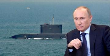 Putin'in gizli silahı deniz dibinde yandı