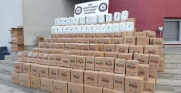 18 kişinin hayatını kaybettiği Adana'da 2 bin 395 litre etil alkol ele geçirildi